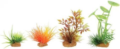 Zolux Dekoracje roślinne mix 4szt. zestaw 3