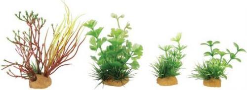 Zolux Dekoracje roślinne mix 4szt. zestaw 2