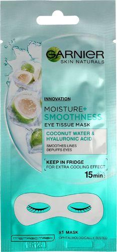 Garnier Skin Naturals Moisture + Maska pod oczy Coconut Water & Hyaluronic Acid 6g