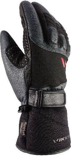 Viking Rękawice narciarskie męskie Stubai Primaloft Aerogel czarno-szare r. 9 (110/20/0740)