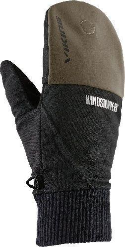 Viking Rękawiczki unisex Windstopper Hadar czarno-oliwkowe r. 9 (170/20/0660)