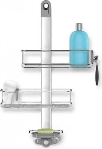Koszyk prysznicowy Simplehuman Standard prostokątny chrom (BT1098)