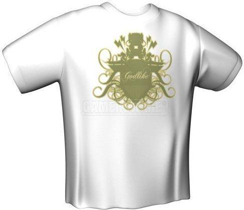 GamersWear GODLIKE T-Shirt biała (M) ( 5990-M )