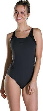 Speedo Strój kąpielowy Boom Splice Muscleback czarny r. 36 (8108219512)