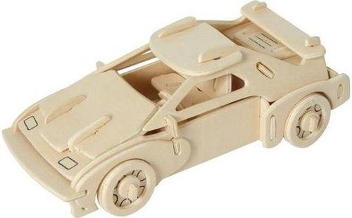 Kemis Drewniane puzzle 3D - samochód