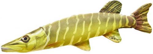 Gaby Poduszka Ryba Szczupak Mini 45cm