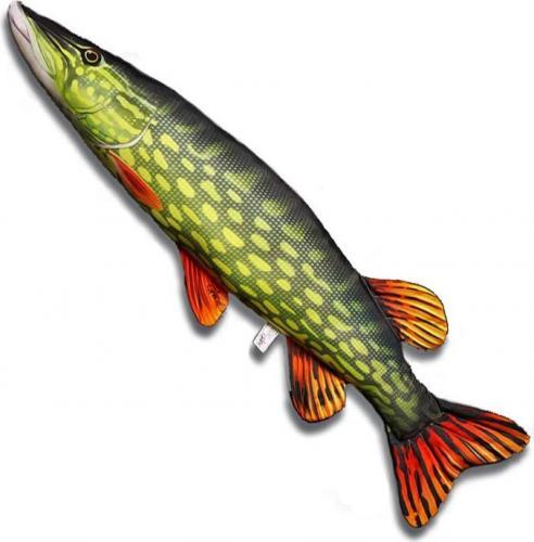 Gaby Poduszka Ryba Szczupak 80cm