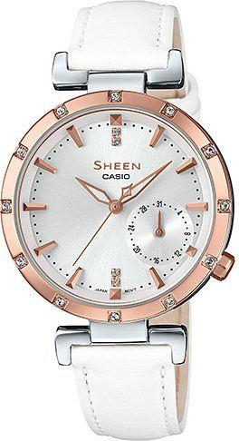 Zegarek Sheen SHE-4051PGL-7AUER damski biały