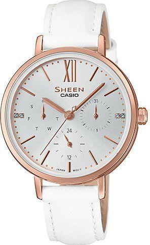 Zegarek Sheen SHE-3064PGL-7AUER damski biały