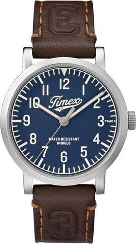 Zegarek Timex Męski TW2P96600 Originals University brązowy