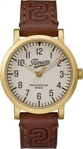 Zegarek Timex TW2P96700 Originals University męski brązowy