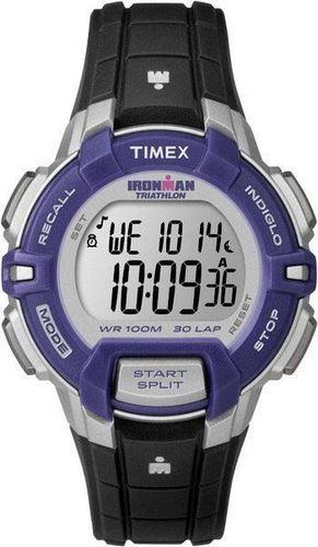 Zegarek Timex Męski T5K812 IronMan Triathlon 30 Lap czarny