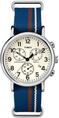 Zegarek Timex Męski TW2P62400 Weekender Chrono niebieski