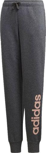 Adidas Spodnie sportoer YG Linear Pant szare r. 146 cm (DJ1309)