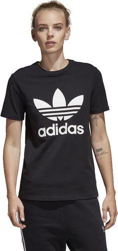 6e8dbf0e4af7ef Adidas Koszulka damska Trefoil czarna r. 32 (CV9888)