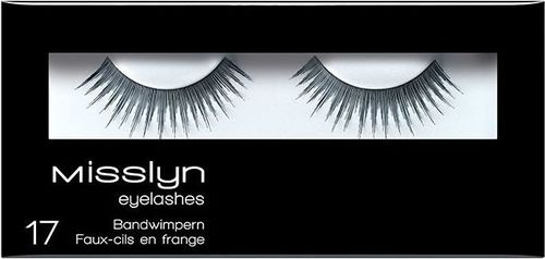 Misslyn Misslyn Eyelashes 17 sztuczne rzęsy [W]