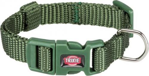 Trixie Obroża Premium kolor leśny r. XXS–XS 15–25 cm/10 mm