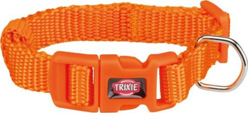 Trixie Obroża Premium kolor papaya r. XXS–XS 15–25 cm/10 mm