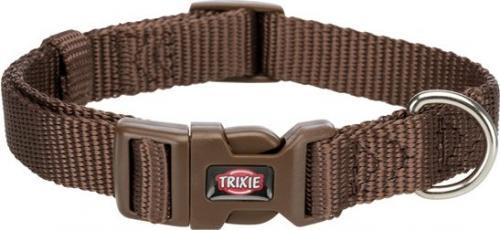 Trixie Obroża Premium mokka r. XXS–XS 15–25 cm/10 mm