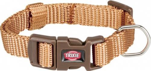 Trixie Obroża Premium kolor karmelowy r. XXS–XS 15–25 cm/10 mm