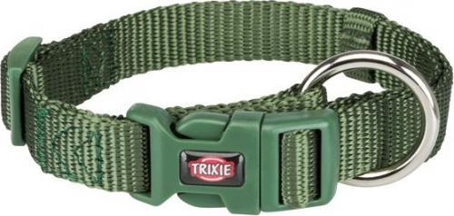 Trixie Obroża Premium kolor leśny r. S–M 30–45 cm/15 mm