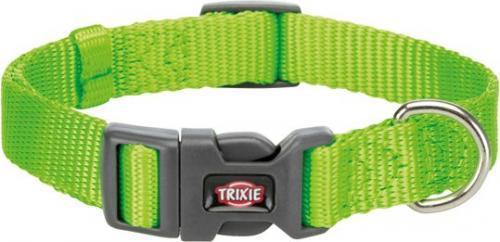 Trixie Obroża Premium kolor jabłkowy r. XS–S 22–35 cm/10 mm