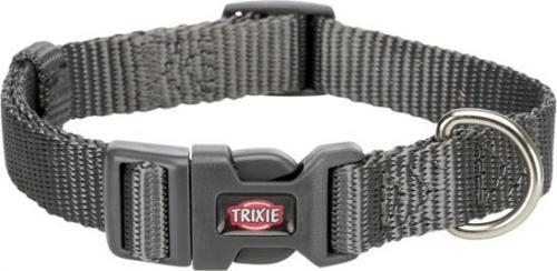 Trixie Obroża Premium grafitowa r. XS–S 22–35 cm/10 mm