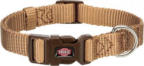 Trixie Obroża Premium kolor karmelowy r. XS–S 22–35 cm/10 mm