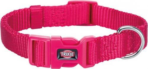 Trixie Obroża Premium fuksja r. XS–S 22–35 cm/10 mm