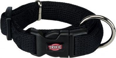 Trixie Obroża Comfort Soft czarna r. M–L: 35–55 cm/30 mm