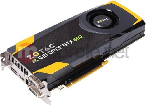 Karta graficzna Zotac GeForce GTX 680 4GB ZT-60103-10P