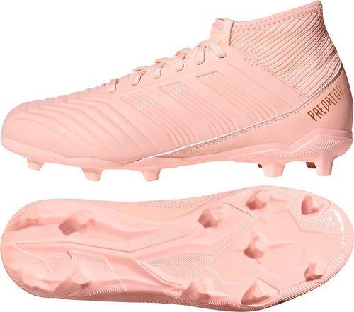 Adidas Buty piłkarskie Predator 18.3 FG Jr Clear Orange / Clear Orange / Trace Pink r. 31 (DB2317)