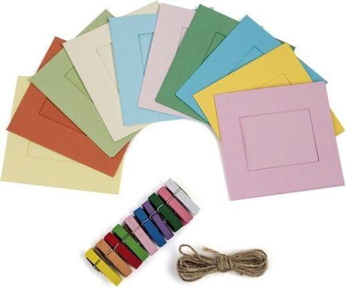 """Ramka Polaroid Ramki Ramka 10x Do Zdjęć Polaroid Zink Paper 2x3"""""""" / Fujifilm 54x86mm - Kolorowe"""