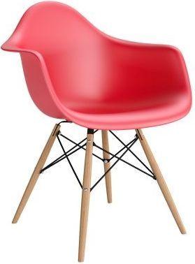 Resol Krzesło P018W PP czerwone