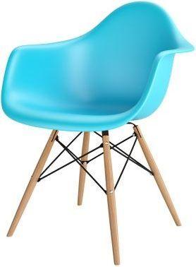 Resol Krzesło P018W PP ocean blue