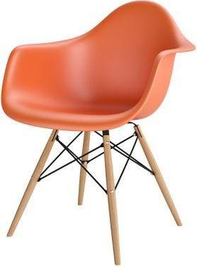 Resol Krzesło P018W PP pomarańczowe