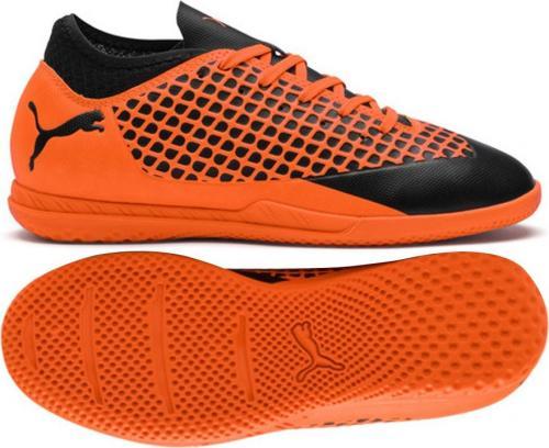 Puma Buty piłkarskie JR Future 2.4 IT pomarańczowe r. 38.5 (104846-02)