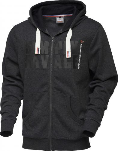 c72f5613a3 Savage Gear Simply Savage Raw Zip Hoodie roz. M (62301)