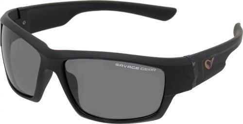 Savage Gear Shades Floating Polarized Sunglasses - Dark Grey (Sunny) (57574)