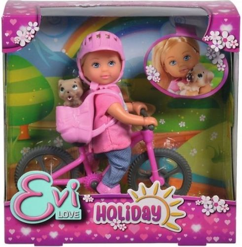 Simba Lalka Evi na rowerze górskim