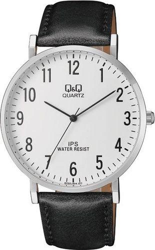 Zegarek Q&Q Męski QZ02-304 Klasyczny Slim czarny