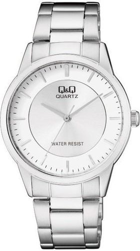 Zegarek Q&Q Męski Klasyczny QA44-201 srebrny