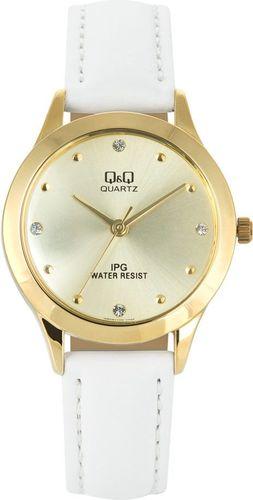 Zegarek Q&Q Damski QZ05-100 Klasyczny Cyrkonie