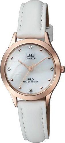 Zegarek Q&Q Damski QZ05-101 Klasyczny Cyrkonie