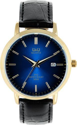 Zegarek Q&Q Męski QZ06-102 Klasyczny Gold & Blue