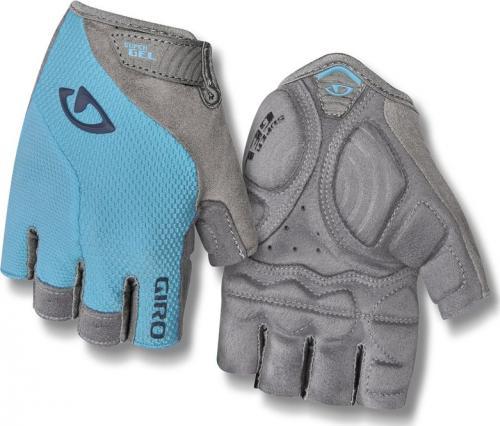 GIRO Rękawiczki rowerowe damskie Strada Massa SG niebiesko-szare r. L