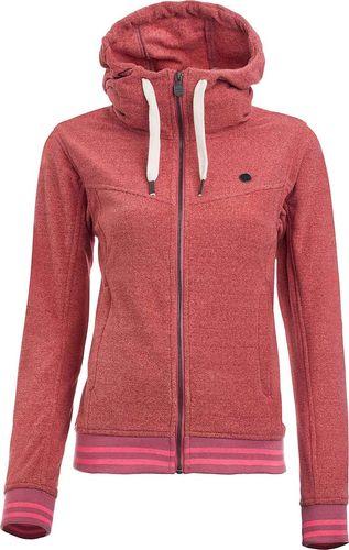Woox Damska Bluza Fleece Polar| Różowa Tepida Odes -  38 - 38