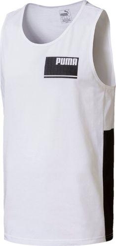 Puma Koszulka męska Summer Rebel biała r. XL