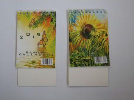 Darrieus Kalendarz Biurkowy Pionowy Mini 90x130 2019 MIX