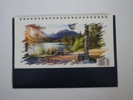 Darrieus Kalendarz Biurkowy Lux 115x225 2019